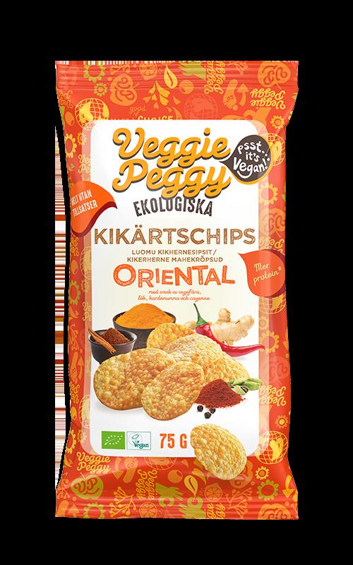 Kikartschips Oriental Veggie Peggy Vegan
